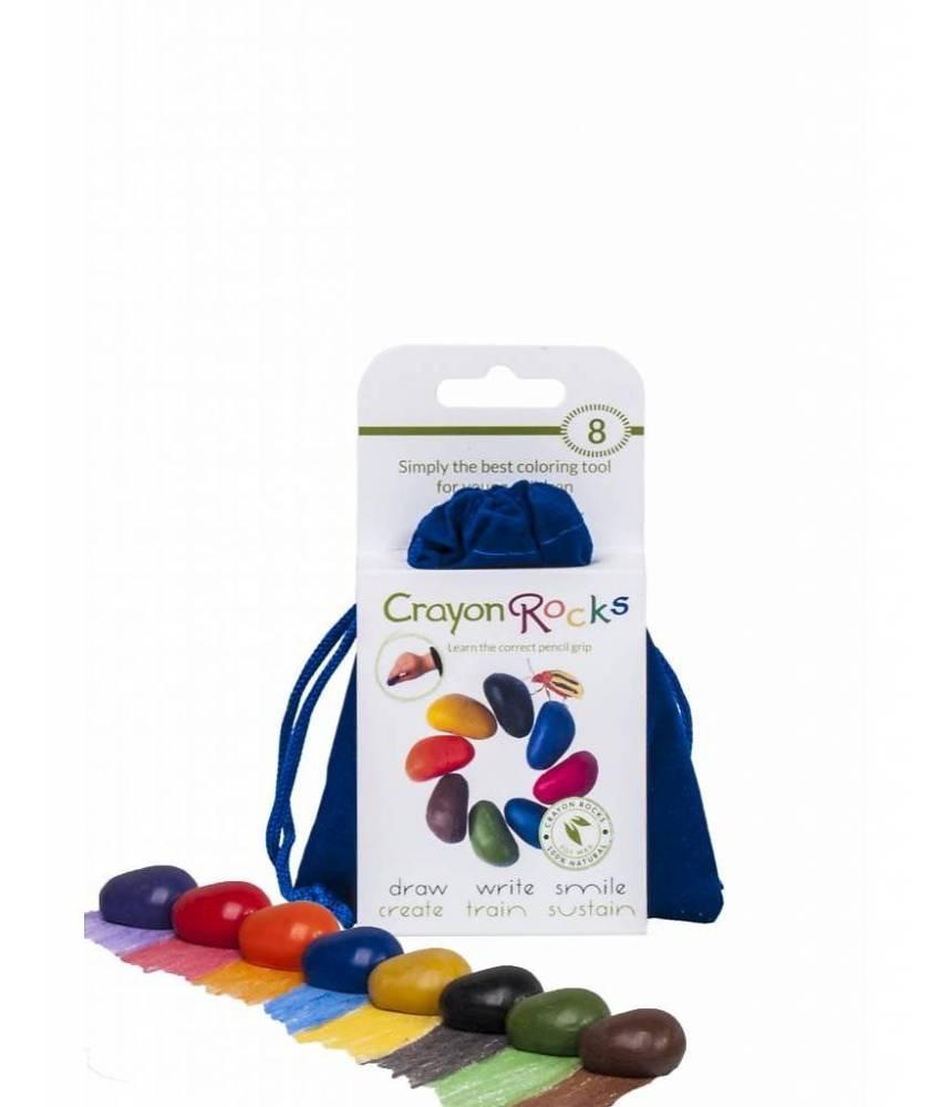 Crayons Rock - Crayons cailloux lot de 8