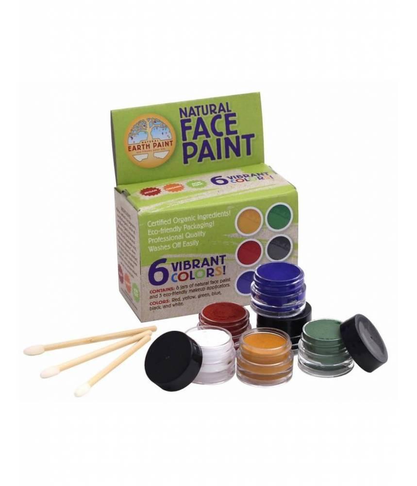 kit de peinture visage 100% naturelle Nature Earth