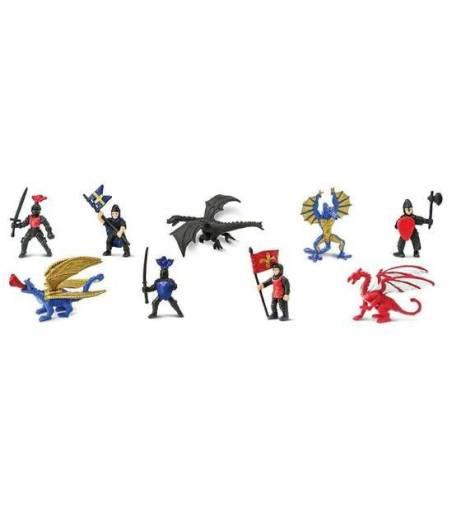 Toobs Chevaliers et Dragons 2 Safari Ltd jeu éducatif Enfants Jouet Figure
