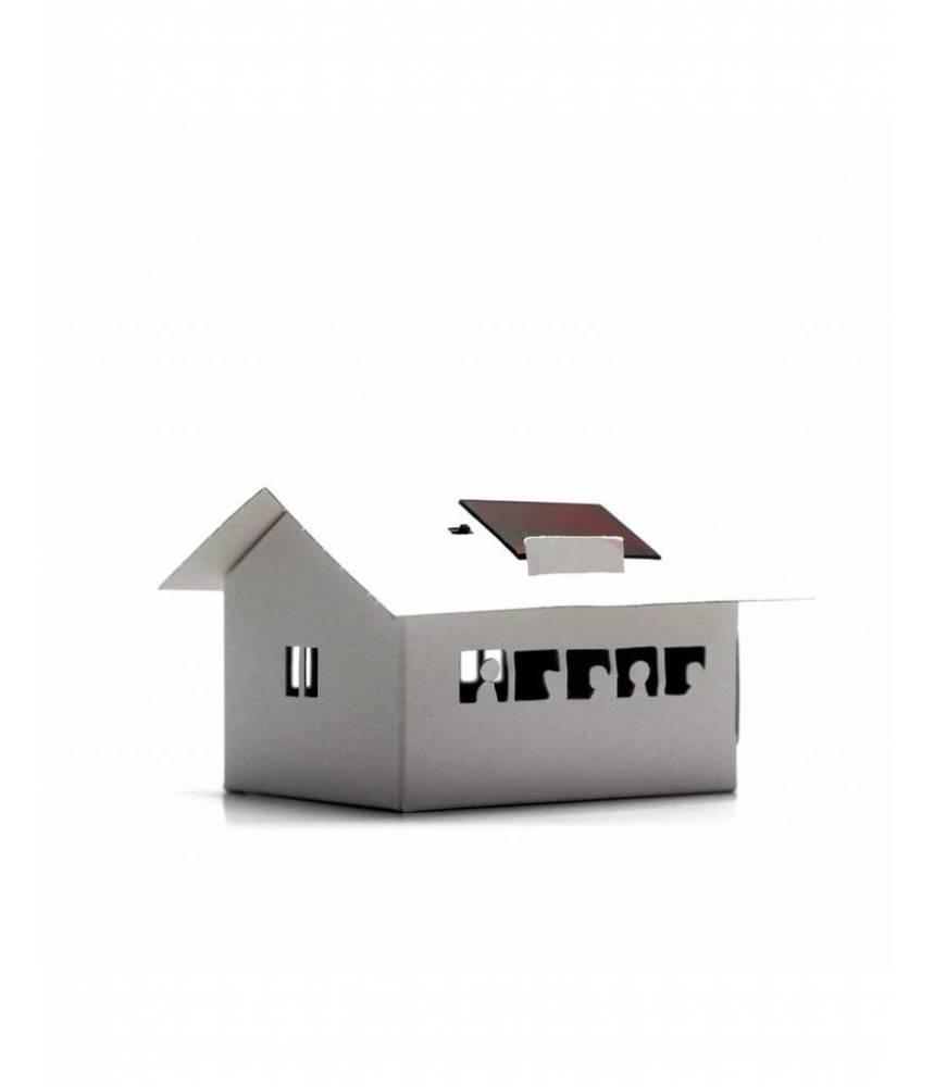 Petite Ecole solaire à décorer - Litogami -Casagami originale