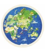 Puzzle globe terrestre - Goki