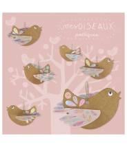 Mes oiseaux poétiques - Pirouette Cacahouète