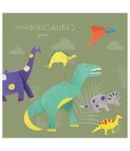 Mes dinosaures à colorier - Pirouette Cacahouète
