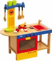 Cuisine en bois enfant