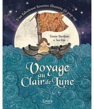 Voyage au clair de lune - Zanna Davidson - Editions Kimane