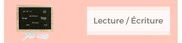 Lecture / Écriture